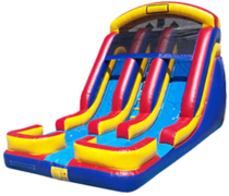 (C) 18ft Twin Torpedo Wet-Dry Slide